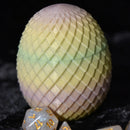 Dragon Egg Dice Box - Pale Tones - Diamond