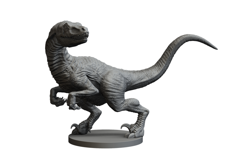 Raptor 2 STL Miniature File