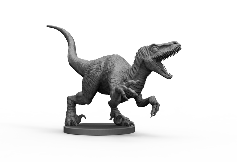Raptor 1 STL Miniature File