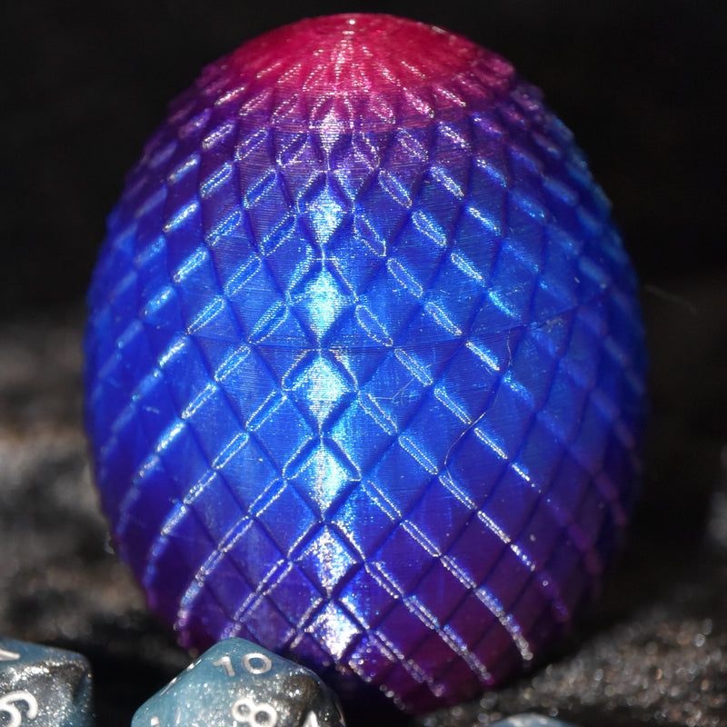 Dragon Egg Dice Box - Twilight - Diamond