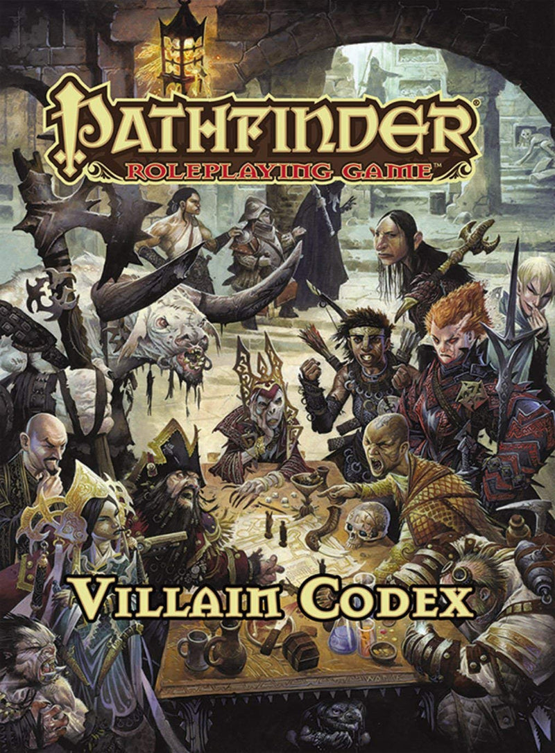 Pathfinder Roleplaying Game: Villain Codex
