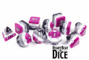 Heart Beat Dice - Vibrant Asexual Pride