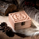 Wolf small Trinket/Dice Bowl, Coaster and Box