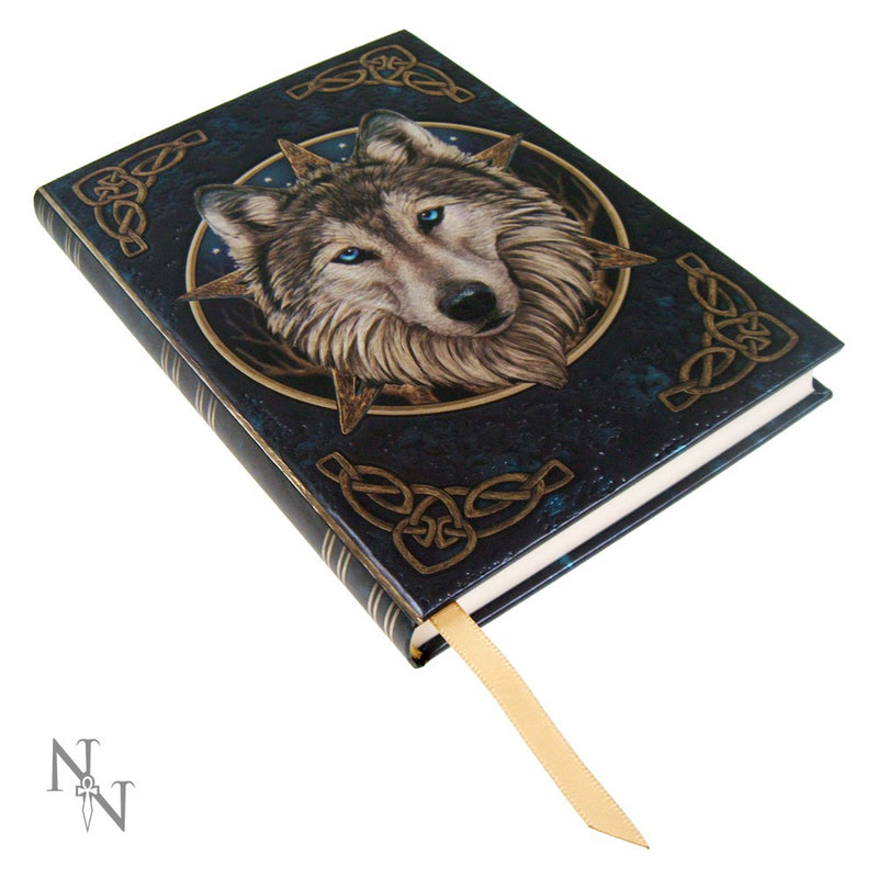 The Wild One Embossed Journal - Wolf