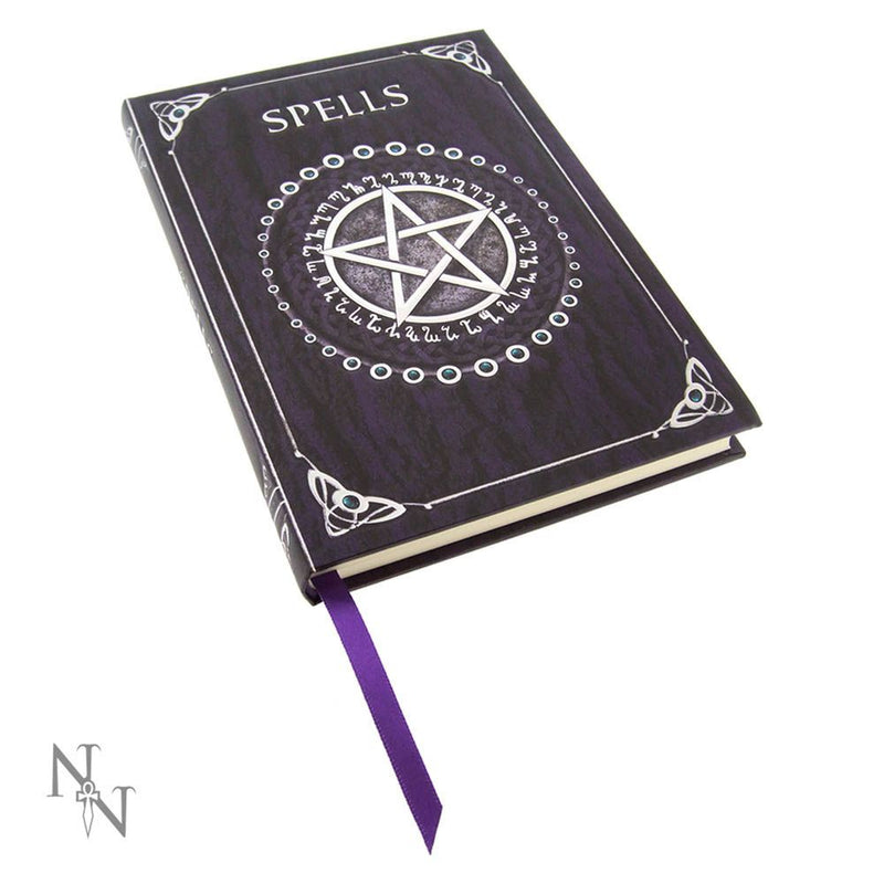 Spell Book Embossed Journal - Purple