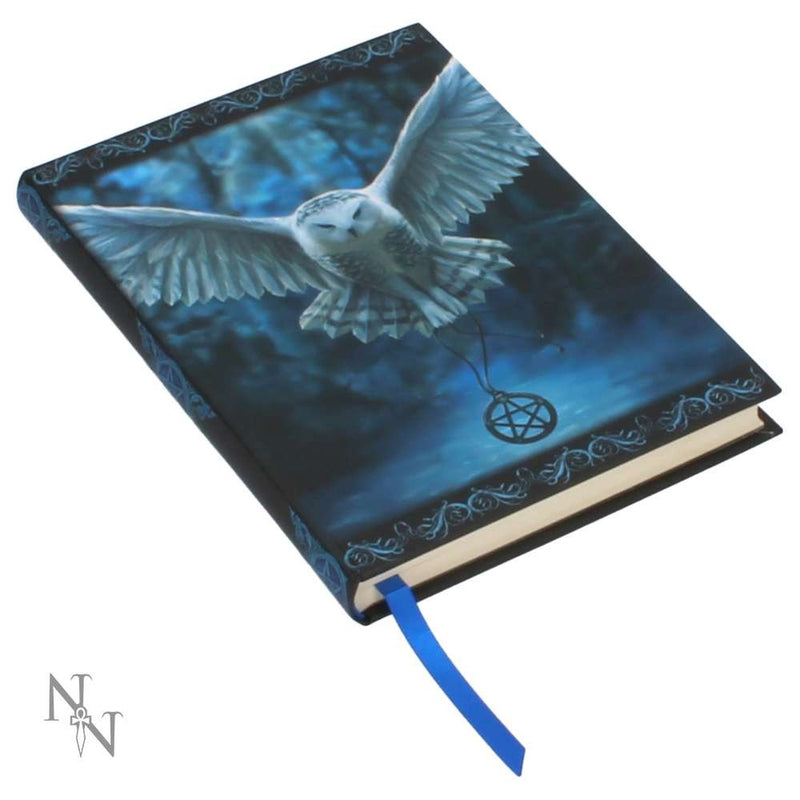 Awaken your Magic Embossed Journal -Owl