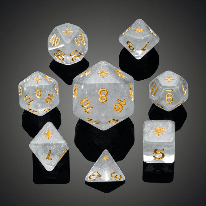 Limited Edition Arctic Compass Dice Set
