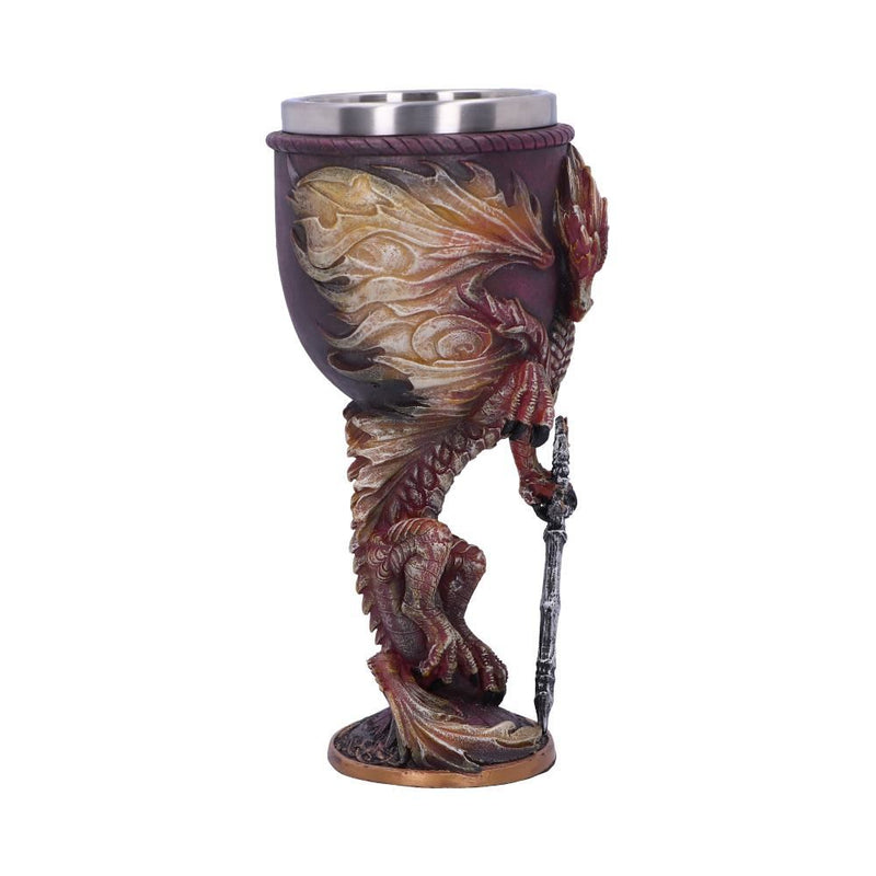 Flame Blade Goblet by Ruth Thompson