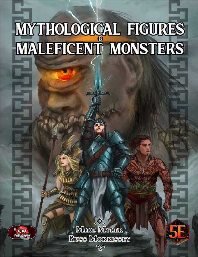 Mythological Figures & Maleficent Monsters for D&D Hardback Book