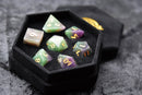 Natural Fluorite Gemstone Dice