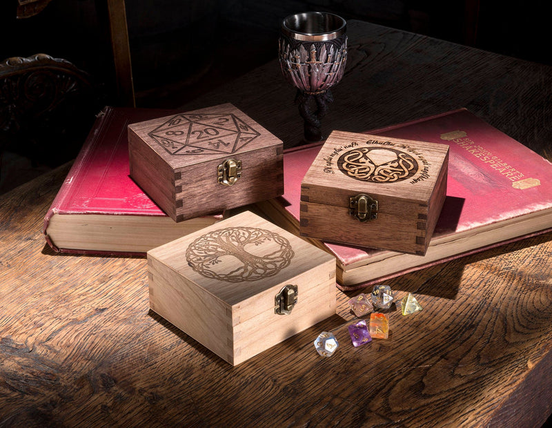Square Dice Box