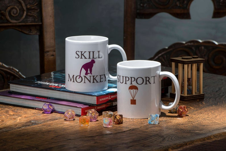 Class Dungeons and Dragons Mug
