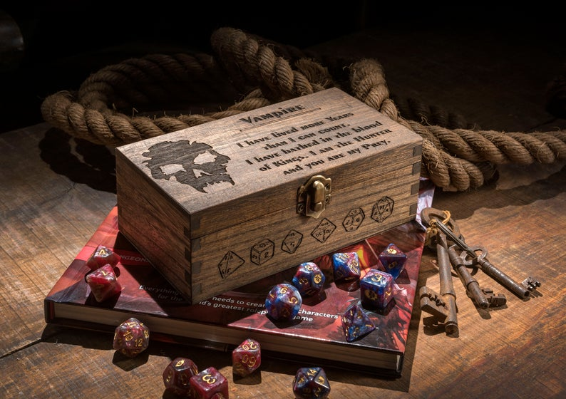 Large Advance Character Class Dice Box