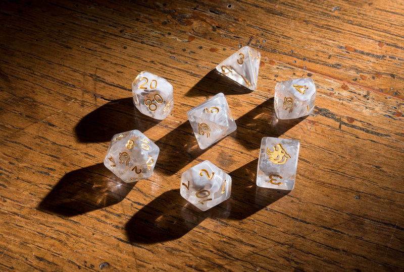 Dice RPG Set of 7 'Spirit Of' Wolf Dice