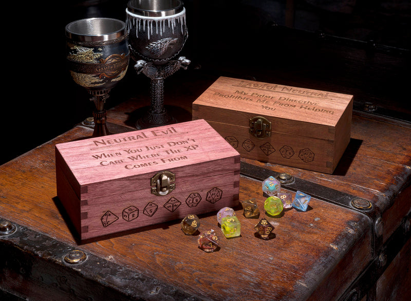 Large Alignment Dice Box