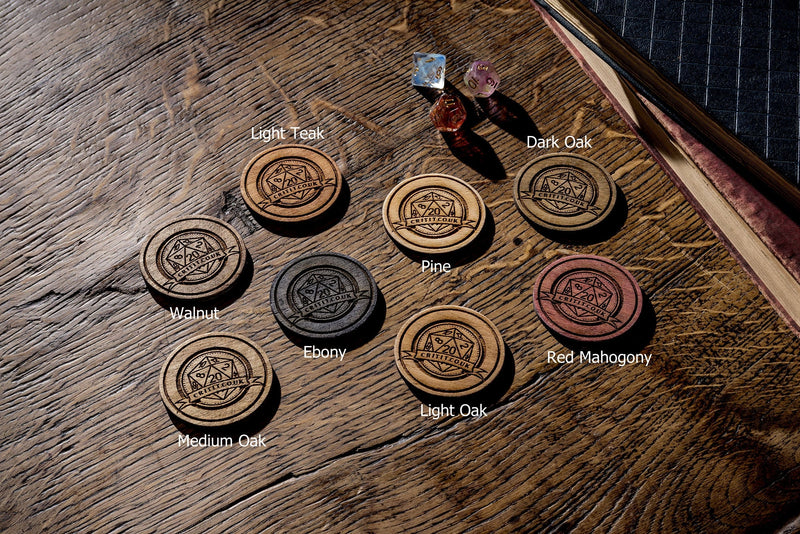 Call of Cthulhu Wooden Game Master Screen.