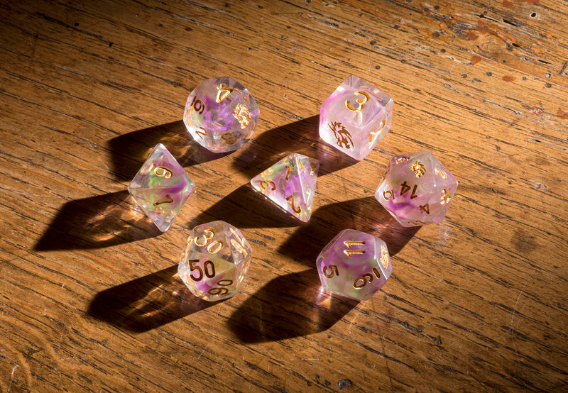 Dice RPG Set of 7 'Spirit Of' Dragon Dice