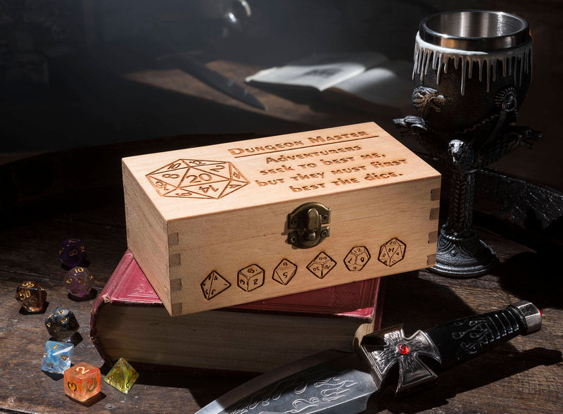 Dungeon Master Large Dice Box