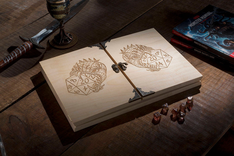 Dragon Premium Hardwood Dungeon Master Screen