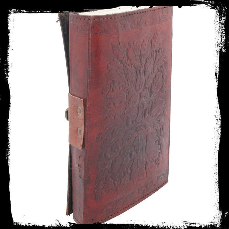Green Man Leather Journal