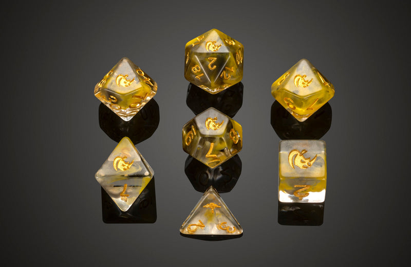 Dice RPG Set of 7 'Spirit Of' Rhino Dice