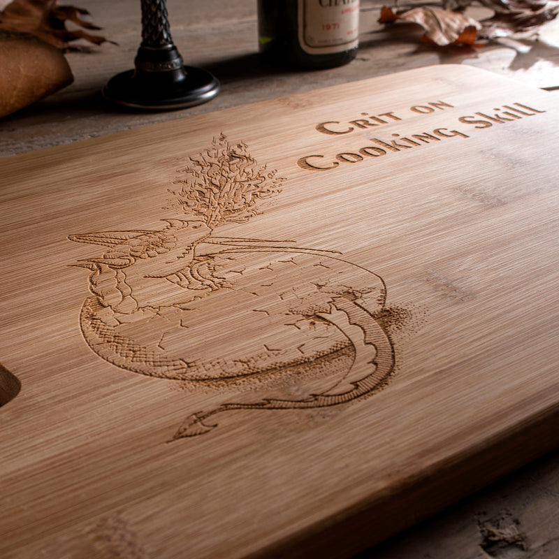 Dragon Hatchling Chopping Board