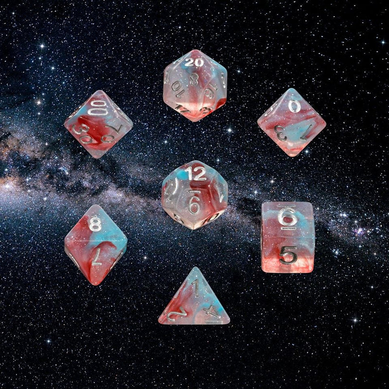 Dice RPG Set of 7 Centaurus A 'Spirit Of' the Galaxy