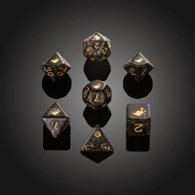 Dice RPG Set of 7 'Spirit Of' Werewolf Dice