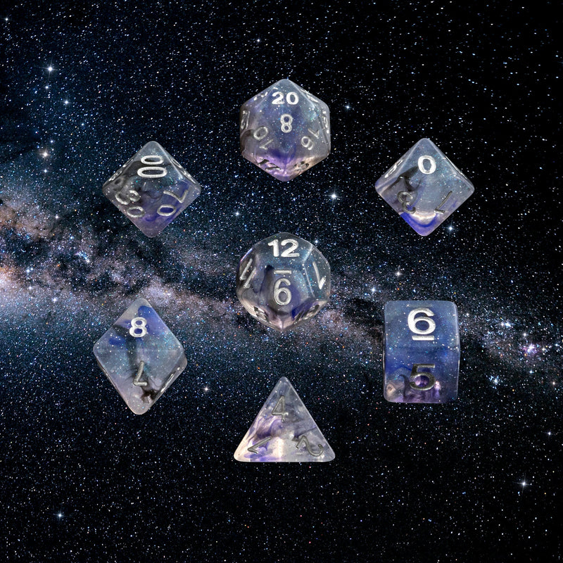 Dice RPG Set of 7  Orion 'Spirit Of' the Galaxy
