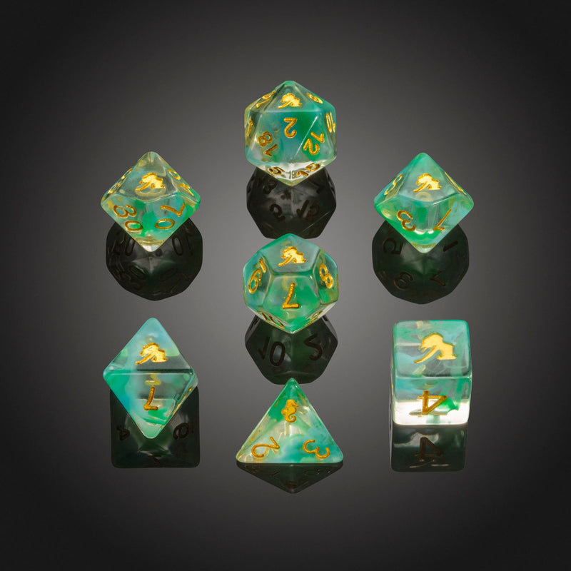 Dice RPG Set of 7 'Spirit Of' Mermaid Dice