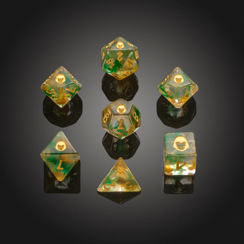 Dice RPG Set of 7 'Spirit Of' Gorilla Dice
