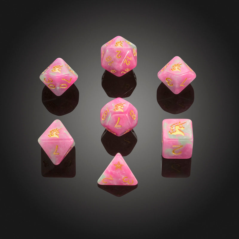Series 3 'Spirit Of' Unicorn Dice