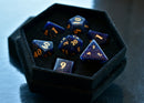 Sodalite Gemstone Dice