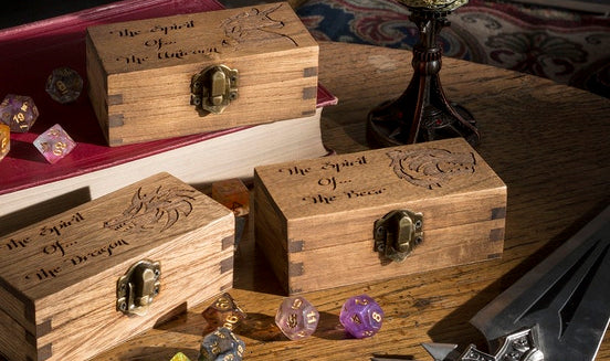 'Spirit of' Small Dice Box