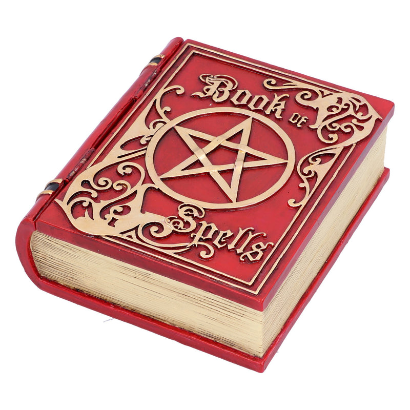 Resin Spell Book - Red