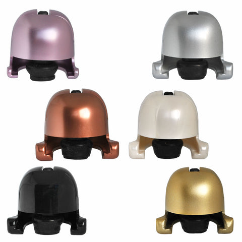 Fizz Stoppers for Prosecco, Champagne, Cava, English Sparkling Wine in a variety of colours