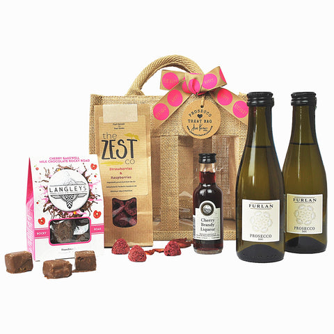 Happy Birthday Prosecco Treat Bag (Medium)