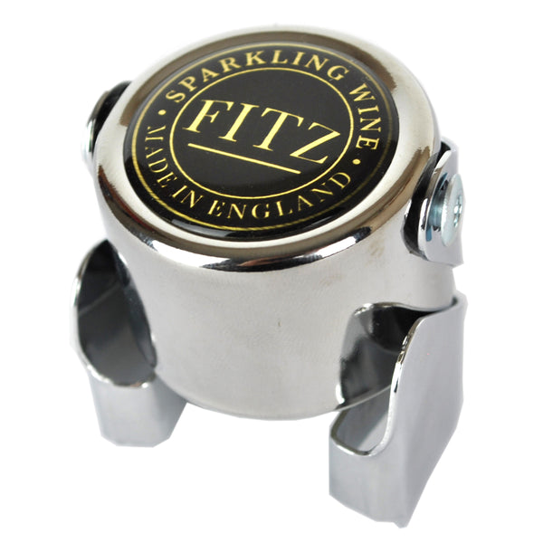 Fitz Sparkling English Wine Chrome Fizz Stopper