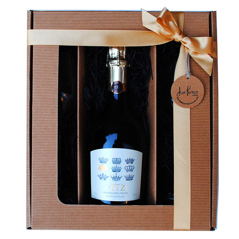 Fitz White Sparkling Wine Gift Set