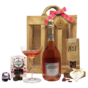 Happy Birthday Pink Fizz Treat Bag (Large)
