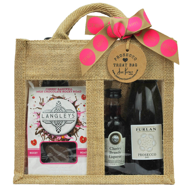 Birthday Prosecco Treat Bag (Medium)