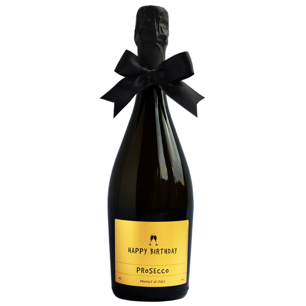 Happy Birthday Prosecco and Truffles Gift Set