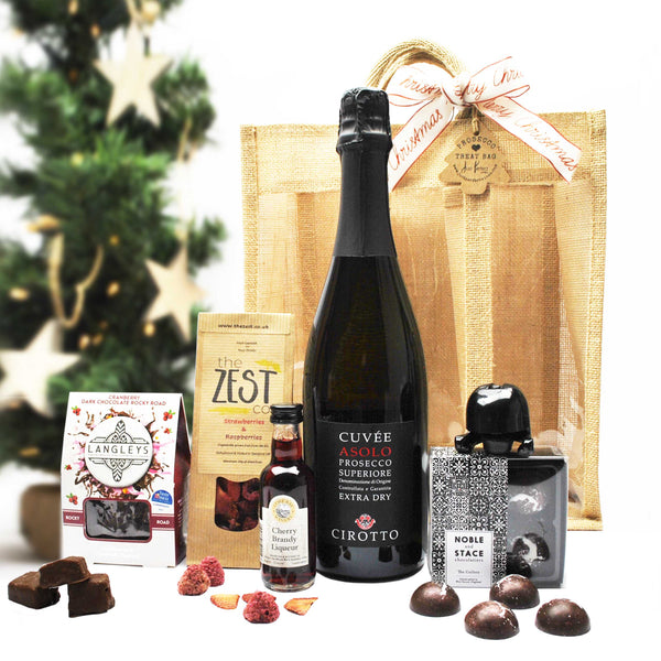 Christmas Prosecco Treat Bag (Large)