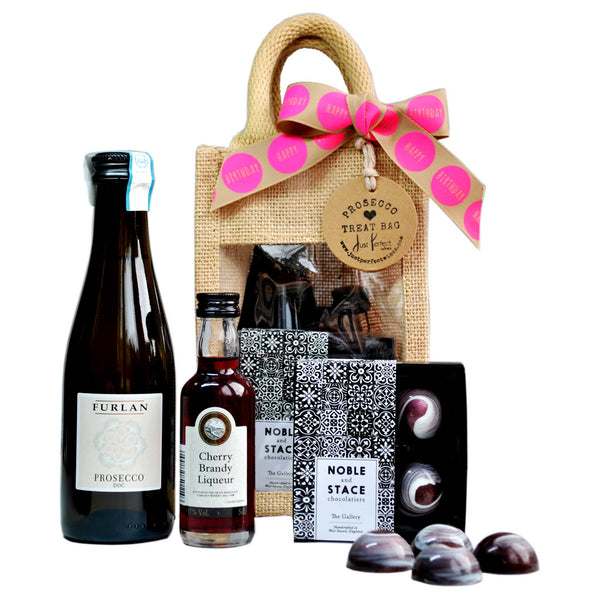 Birthday Prosecco Treat Bag (Mini)