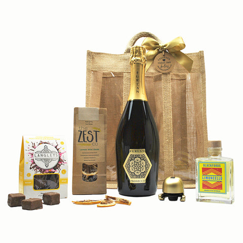 Prosecco and Lemon Treat Bag Hamper