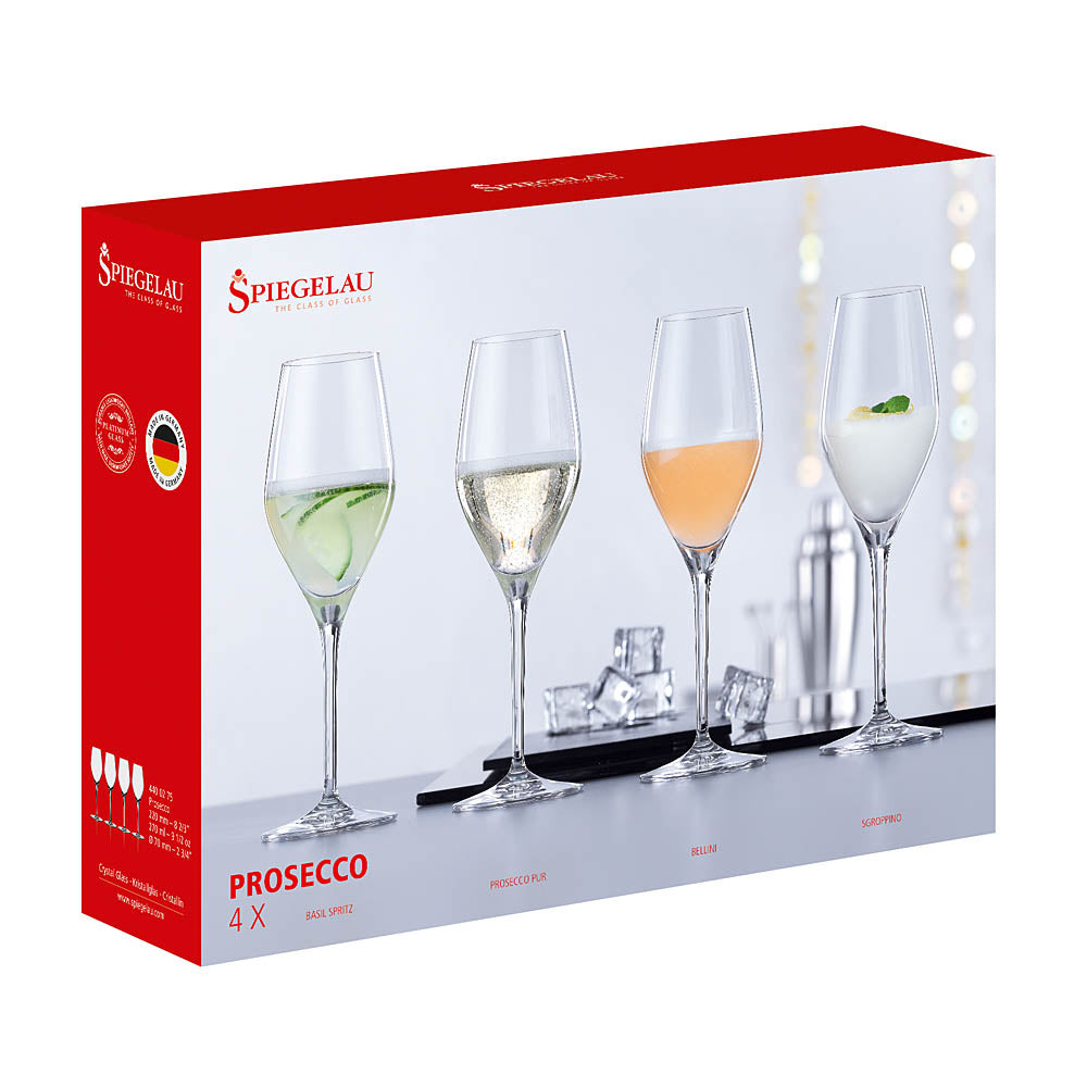 Spiegelau Prosecco Glasses - Set of 4