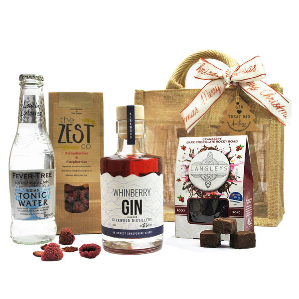 Christmas Whinberry Gin Treat Bag (Medium)