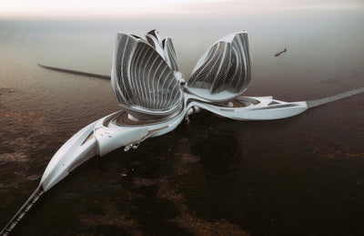 Gorgeous Floating Research Station Wins the 2020 Grand Prix Award
