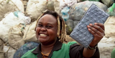 Woman Turns Non-Recyclable Plastic Into Bricks 7 Times Stronger Than Concrete