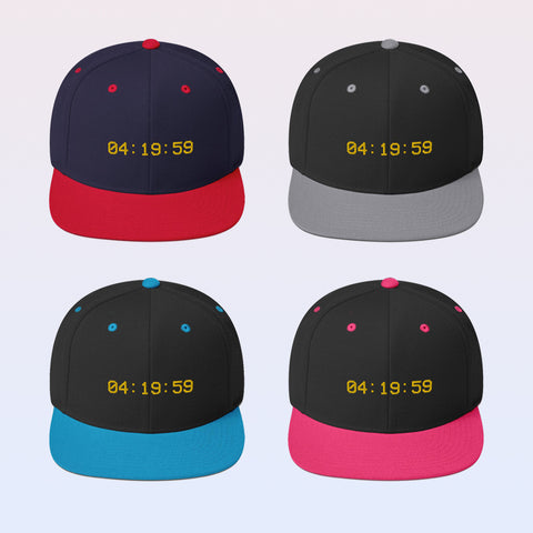 Image of SmokeTime Snapback Hat